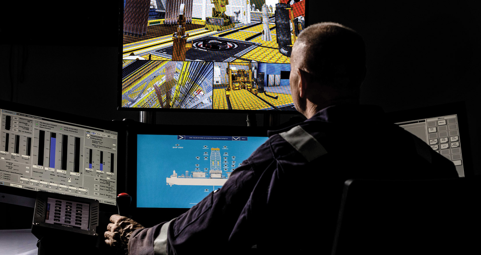 On The Rig (OTR) Portable Drilling, Well Control and Crane Simulator