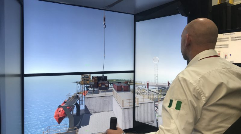 KraneSIM:6000 crane and lifting simulator