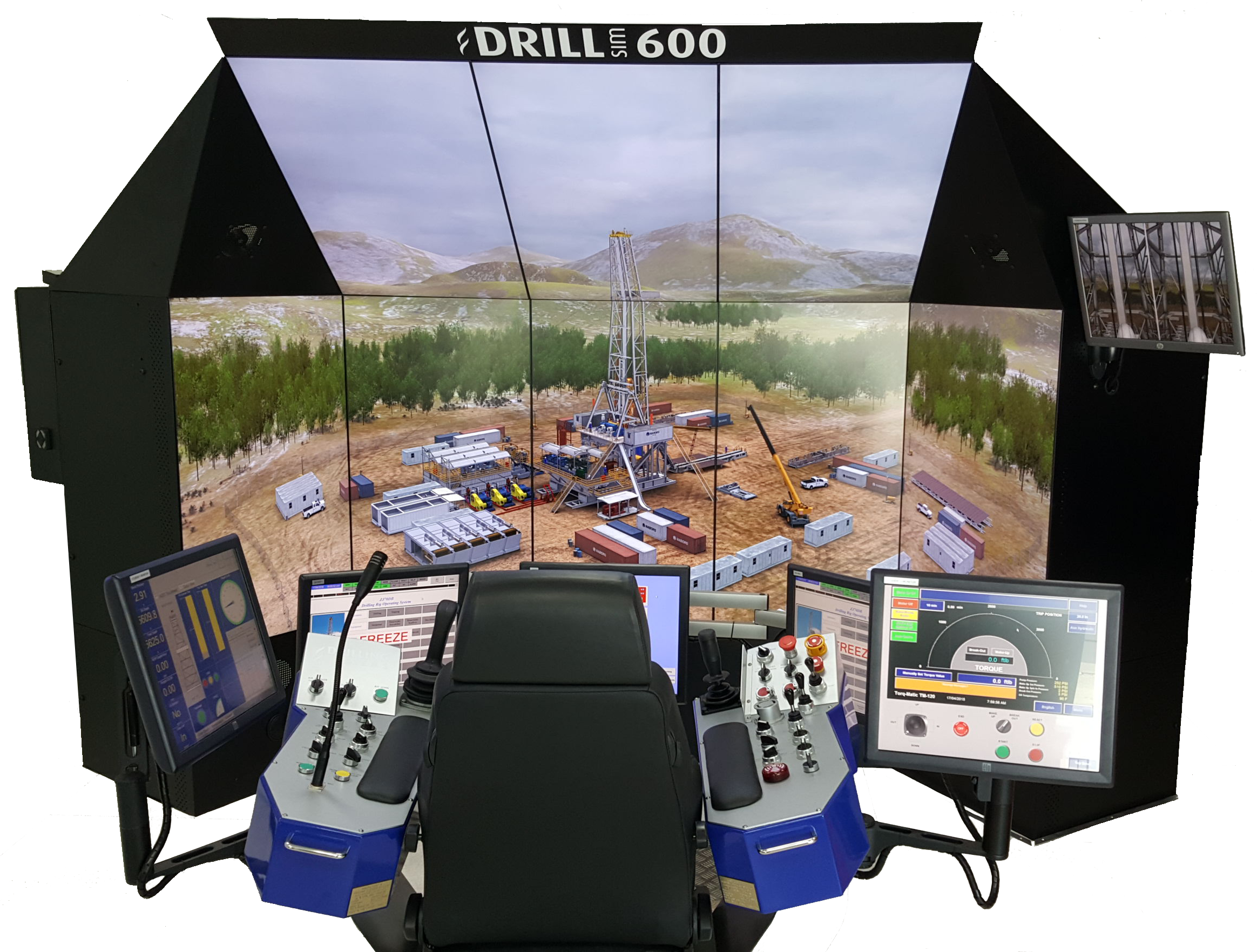 DrillSIM:600 Advanced Cyberbase Drilling and Well Control