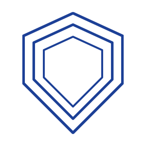 Safety Icon Blue