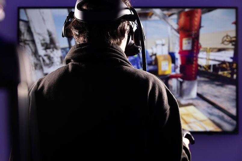 Virtual reality training for Saudi Aramco Nabors Drilling's (SANAD)