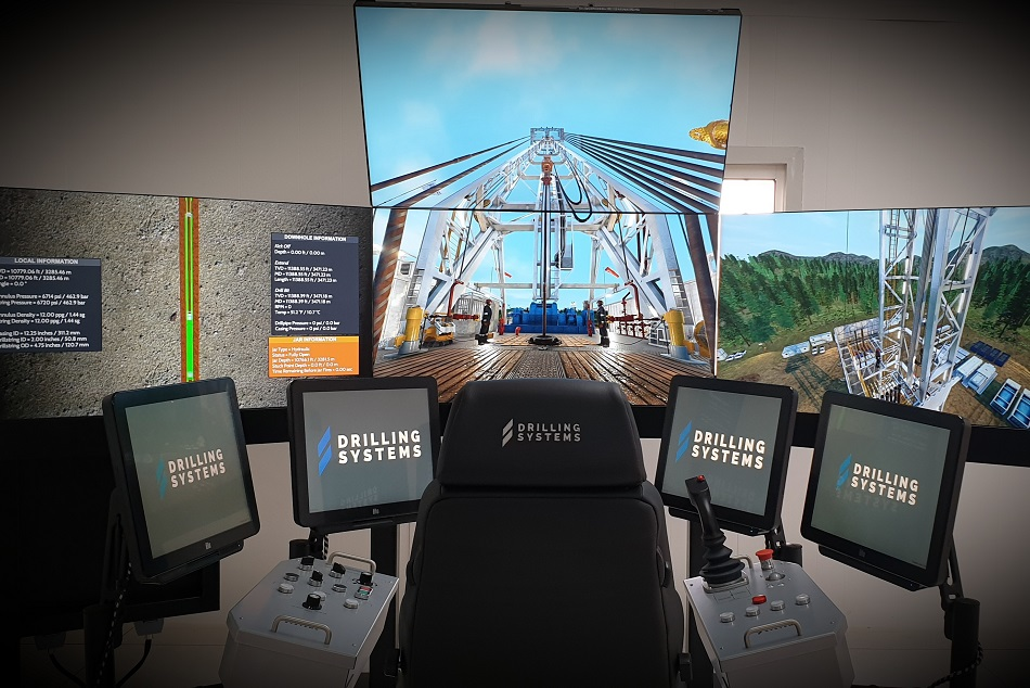 The DrillSIM:5000 Cyber drilling and well control simulator at Saipem
