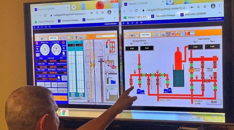 Drilling training goes virtual at Malaga Drilling School